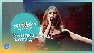 Laura Rizzotto - Funny Girl - Latvia - National Final Performance - Eurovision 2018