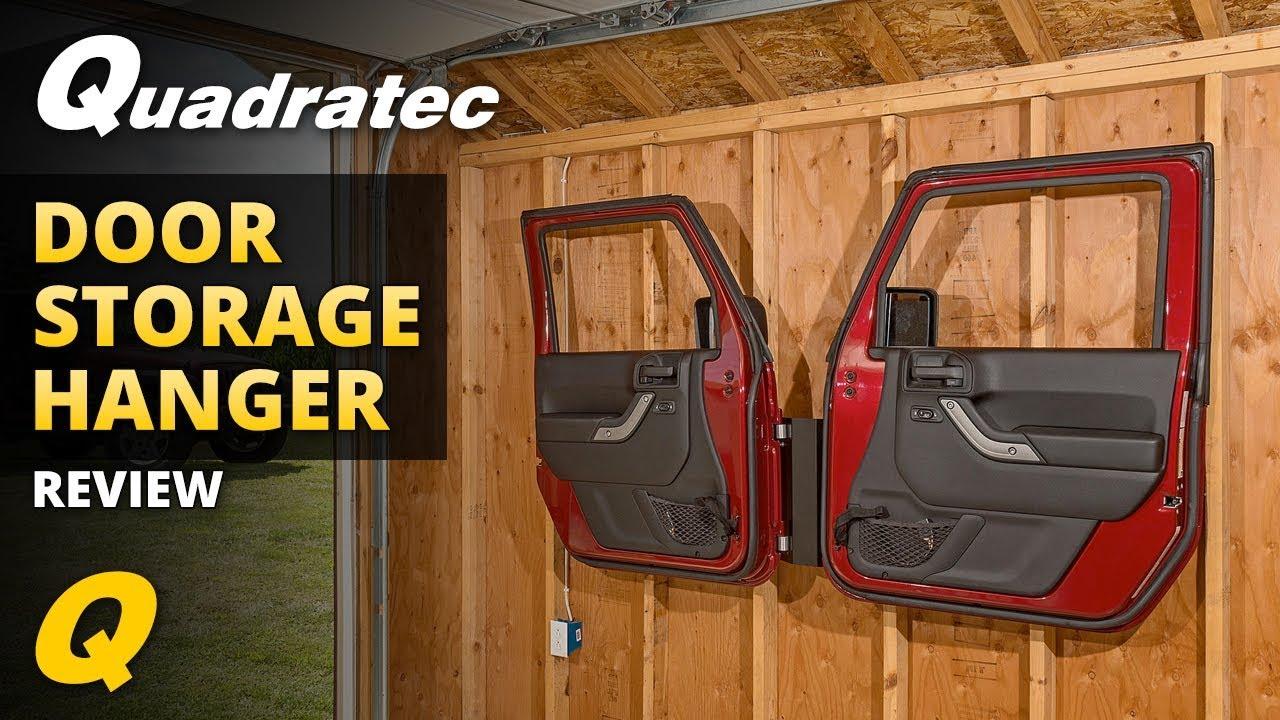 Jeep Wrangler Door Storage Hanger Youtube