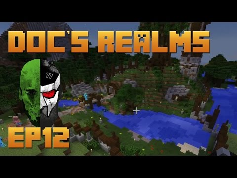 Docm77's Minecraft REALMS - The Hobbit Hole