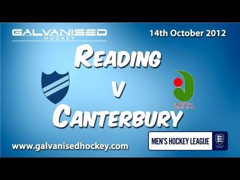 Reading v Canterbury (m) 14/10/12