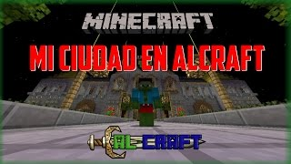 Mi ciudad towny en AlCraft -  Server No premium 1.9/1.10