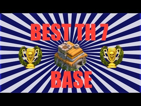 BEST Clash of Clans Townhall 7 Base/Defense/Layout - Trophy