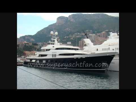 superyacht Amadeus owned by French industrialist Bernard Arnault.wmv