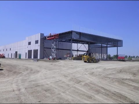 General Motors Chevrolet Dealership New Construction From Start To Finish - 2012