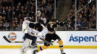 NHL - Helmets Knocked Off