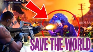 CHALLENGE THE HORDE !! | Fortnite Save The World #5