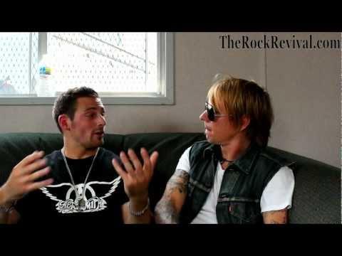 Charm City Devils Interview with John Allen at Rock Allegiance 2012