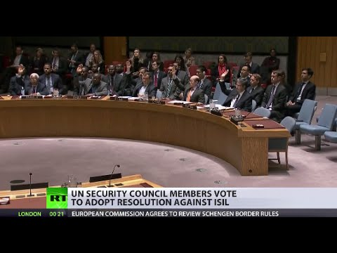 UN Security Council unanimously adopts resolution against ISIS