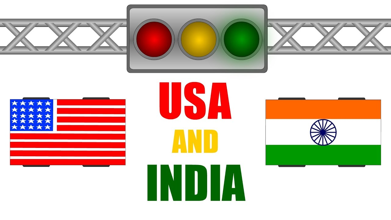 Traffic Signal Rules in Usa Usa And India Traffic Rules