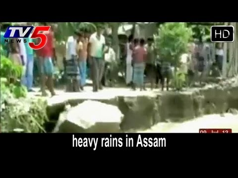 Assam flood Situation Worsens PM Speaks To Tarun Gogoi -  TV5