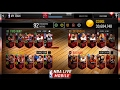 NBA LIVE MOBILE | 30 MILLION COIN SHOPPING SPREE! AMAZING TEAM + 96 OVERALL PICKUPS!