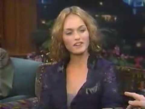Amber Valletta - Tonight Show w/ Jay Leno
