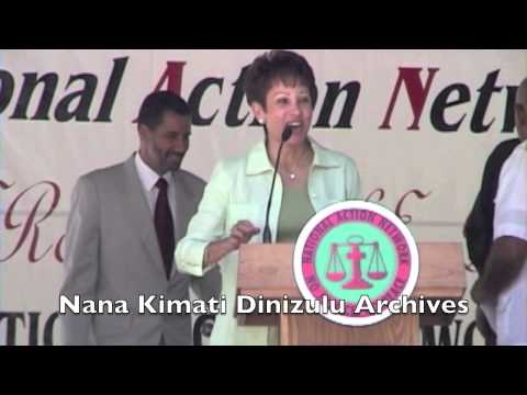 UN Rally  - US Navy Out of Vieques - National Action Network - Part 1