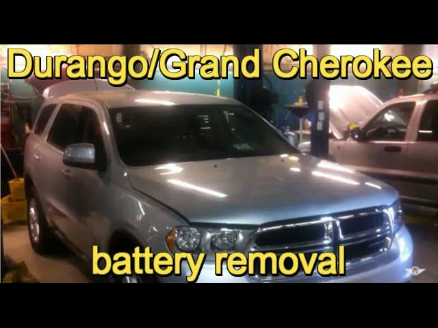2010-2014 Dodge Durango and Jeep Grand Cherokee battery ...