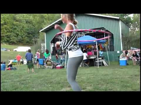 A Girl In Tights With A Hula Hoop Is A Great Thing Video