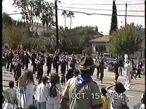 Orange Glen High School band @ the 1994 Buckboard Parade
