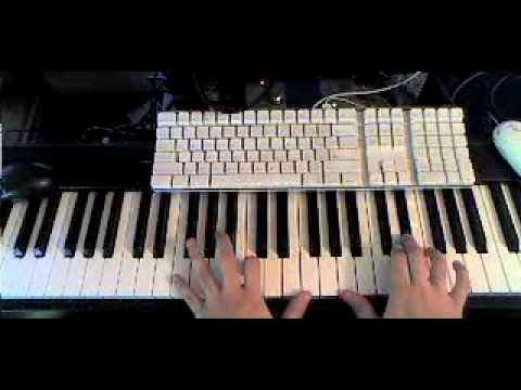 4 minutes to save world - Madonna Piano Tutorial