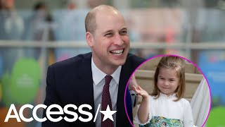 Did Prince William Just Reveal His Cute Nickname For Princess Charlotte? Sure Sounds Like It!