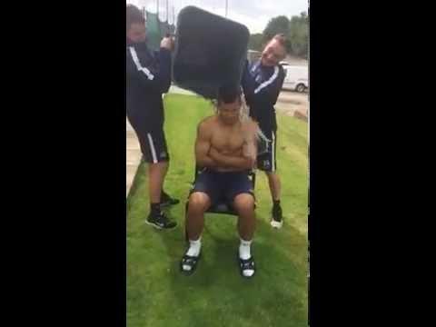 Sergio Kun Aguero ALS #IceBucketChallenge