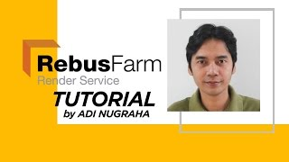 RebusFarm render service with cinema 4d tutorial by Adi nugraha
