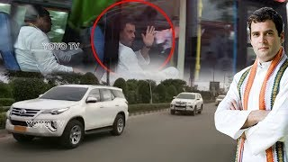 Rahul Gandhi Convoy in Hyderabad | Telangana Congress