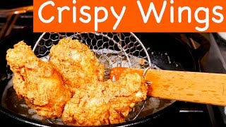 Crispy Fried Chicken Wings Recipe