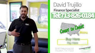 Coast to Coast Motors in house financing!
