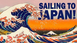 JAPAN AND PACIFIC NORTHWEST HERE WE COME! SAILING FOLLOWTHEBOAT