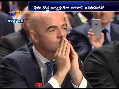 Gianni Infantino elected Fifa president after Zurich election