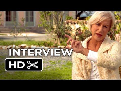 The Hundred-Foot Journey Interview - Helen Mirren (2014) - Manish Dayal Movie HD