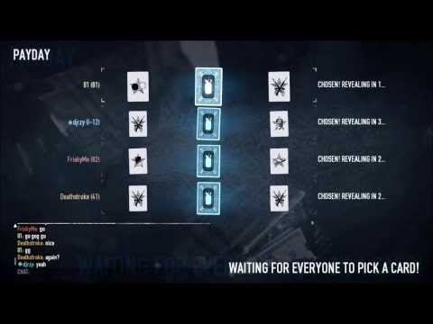Payday 2 --- 15 Card Drops Infamous Infamy Tree Level Mask Pattern