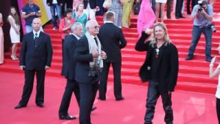 Brad Pitt And Nikita Mikhalkov In Moscow Брэд Питт и Никита Михалков 35 ММКФ 20 06 13