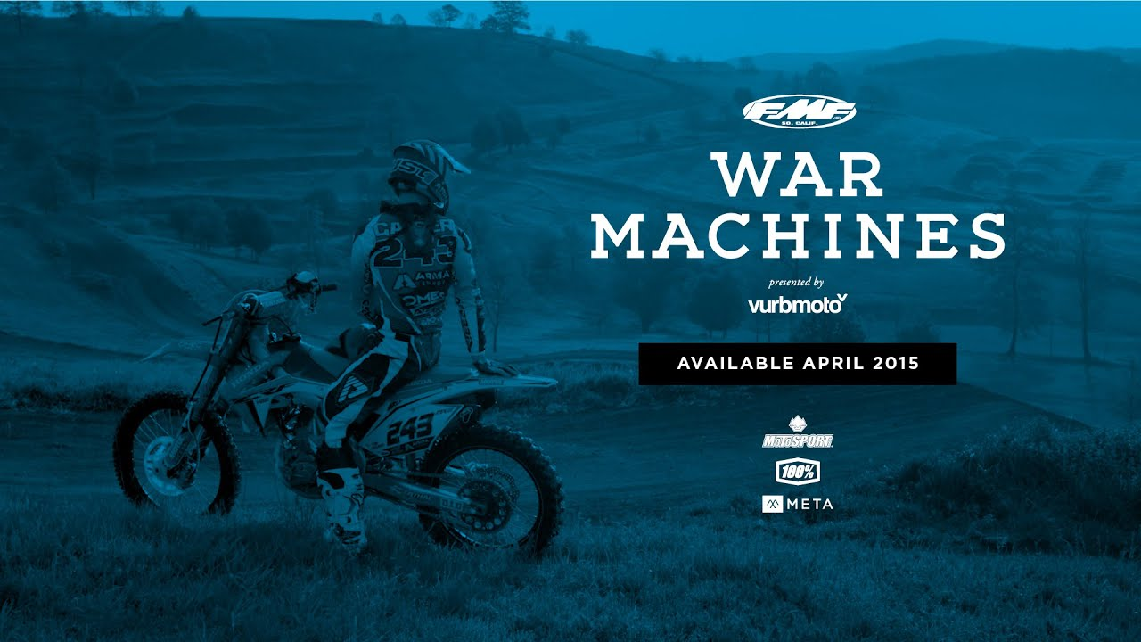 War Machines Motocross Fmf War Machines a Vurbmoto