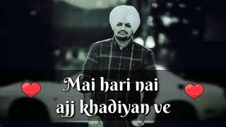Mai changi ha  song by sidhu moose wala whatsapp s