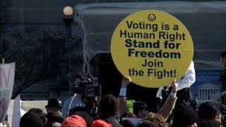 Supreme Court Hears Arguments on Voting Rights Act