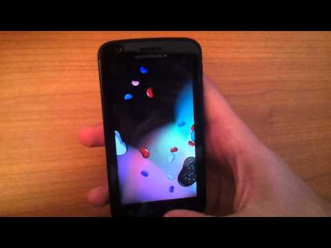 Motorola Atrix MB860 With Android 4.1.1 Jelly Bean