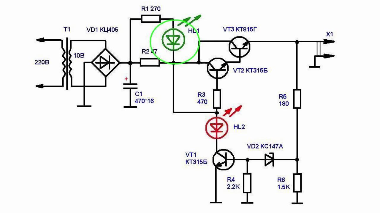 Схемы устройств на отечественных микросхемах