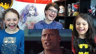 FIGHTING WITH MY FAMILY Official Trailer Reaction!!!