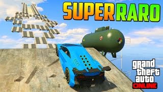 ME AHOGO!!! + RAMPA SUPER RARA!! - Gameplay GTA 5 Online Funny Moments (Carrera GTA V PS4)
