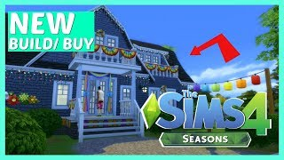 🌨 *New* Build And Buy Review ~ The Sims 4 Seasons Overview