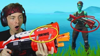 i only use Nerf Guns to win in fortnite... (super easy)