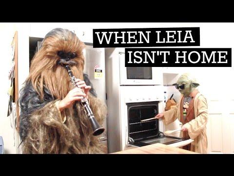 When Mama Isn't Home / When Mom Isn't Home / When Leia Isn't Home (Star Wars)