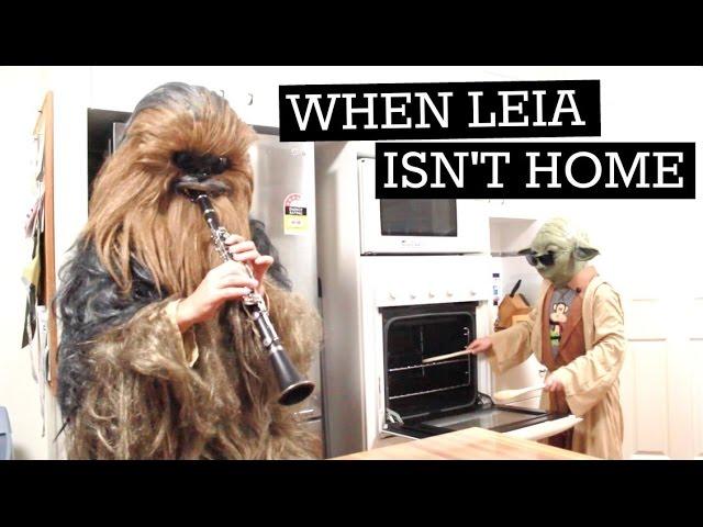 When Leia Isn't Home