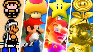 Evolution of Strongest Super Mario Power-Ups (1985 - 2019)