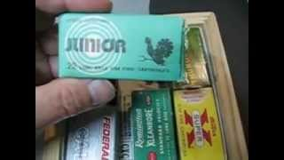 Vintage 22 Steel Long Rifle Ammo...