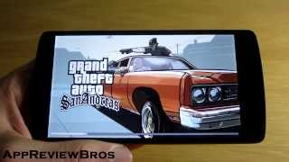 Grand Theft Auto San Andreas Graphics Settings on Android