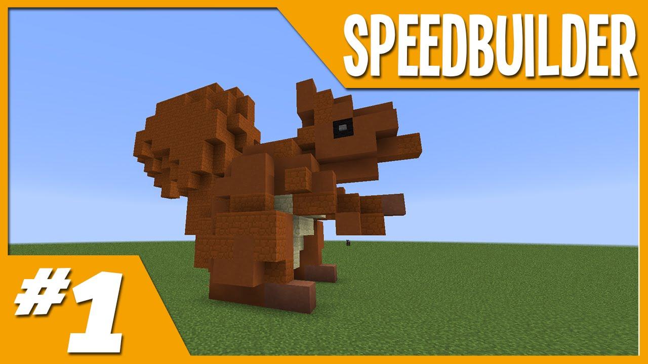 Minecraft Squirell Build