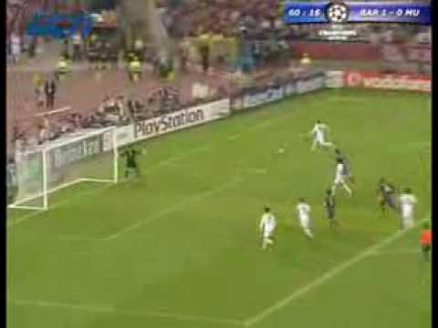 FC Barcelona vs Manchester United Champions League FINAL Rome 2009 {MUST WATCH}