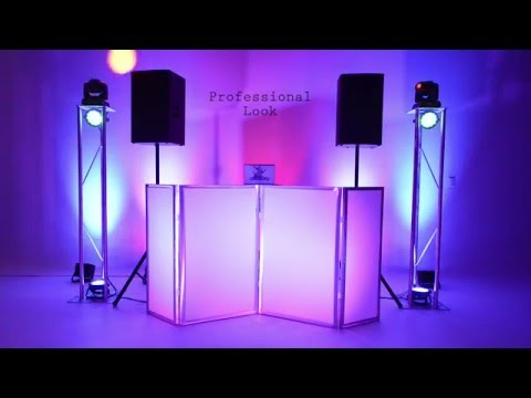 Orlando Wedding DJ Equipment - Sound and Lighting