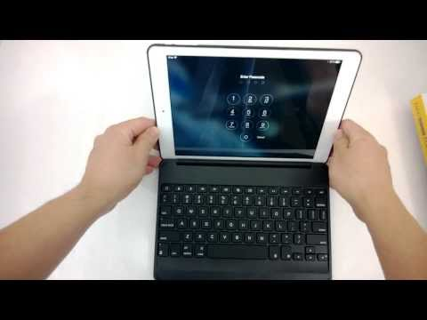 ZAGGKeys Folio Backlit Keyboard for iPad Air Review